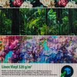 Substrat Linen Winyl zadrukowany